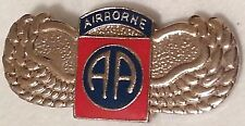 US ARMY 82nd Airborne Wings Pin Single Post