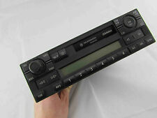 VW PASSAT GOLF BORA POLO 97-98 BLUE LCD CASSETTE RADIO HEAD UNIT 1J0035186B