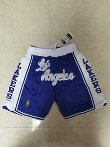 Just Don Lakers Shorts Blue