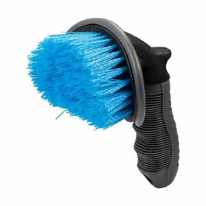 Curved Tyre Brush Car Wash Valeting Detailed Tire Wheel Cleaning