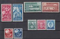 DD8058/ GERMANY – FRENCH RHEINLAND PFALZ – 1948 / 1949 MINT MNH LOT