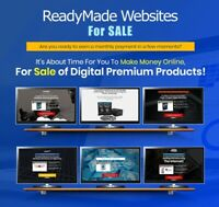 6 ReadyMade Websites with Products for Sales (Ready business for sale)