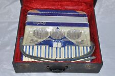 Symphonia Accordion 120 Bass 17 1/2 inch Keyboard Made in Italy