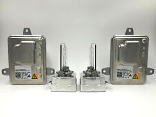 2x New OEM 14-17 Jeep Cherokee HID Xenon Headlight Ballast & Philips D3S Bulb