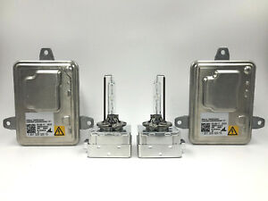 2x New OEM 14-18 Jeep Cherokee HID Xenon Headlight Ballast & Philips D3S Bulb