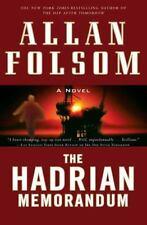 The Hadrian Memorandum by Allan Folsom (2009, Hardcover)