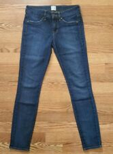 Rich & Skinny Jeans Auth Dark Wash Slim Skinny Light Distressed Size 25