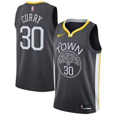 "Stephen Curry jersey! Golden State Warriors men's 3XL NEW w tags ""The Town"" Gray"