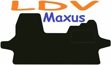 LDV Maxus Tailored car mats ** Deluxe Quality ** 2016 2015 2014 2013 2012 2011 2