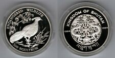 BHUTAN   300 Ngultrum 1994   WWF   Silber/Proof