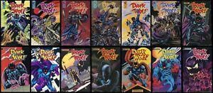 Dark Wolf 1988 Eternity Comic Complete Set 1-2-3-4-5-6-7-8-9-10-11-12-13-14 Lot