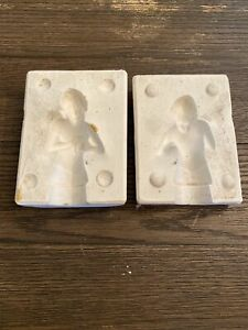 Vintage Angel Doll Mold Nativity Set Molds Size Small