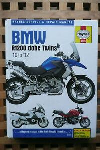 BMW R1200 HAYNES MANUAL DOHC TWINS 10-12