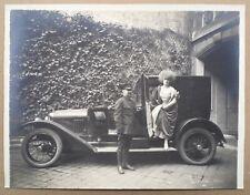 Photo Originale Ancienne Danseuse Jickiss Voiture Ancienne Automobile Buick 1929