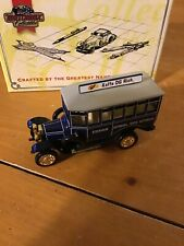 MATCHBOX COLLECTIBLES YET04-M 1922 SCANIA POST BUS STOCKHOLM, SWEDEN