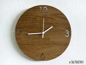 Wooden Simply Circle - Wooden Wall Clock