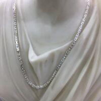 Men King Bali Byzantine Chain Necklace 2.5mm 26GR 26 Inch 925 Sterling Silver