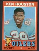 1971 Topps #113 Ken Houston NM/NM+ RC Rookie Oilers 65656