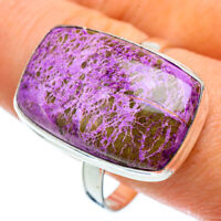 Large Stichtite 925 Sterling Silver Ring Size 13 Ana Co Jewelry R42869F