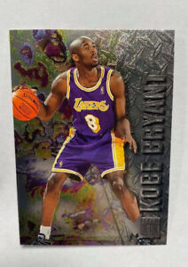 1996-97 Fleer Metal Kobe Bryant Rookie Card RC no. 181 Mint Condition