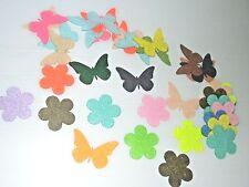 polyester wool blend Felt Flower Butterfly pattern DIY Shape Felt