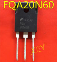 10pcs  FQA20N60 MOS tube TO-3P NPN channel 20A600V triode original new