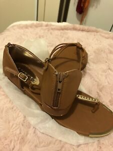 Brown And Gold  10m Sandals