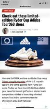 adidas ryder cup golf shoes
