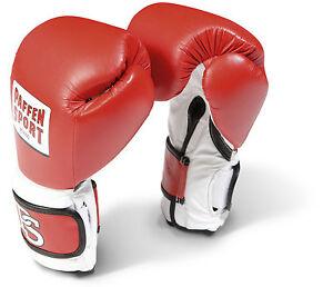 Pro Performance Boxhandschuhe Paffen Sport, rot 14-20Oz. Boxen. Sparring. Train.