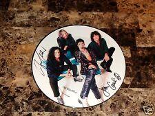 "Union John Corabi & Bruce Kulick Union Signed 12"" Picture Disc Motley Crue Kiss"