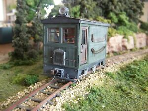 ON30 ,BOX CAB, M.O.W  KIT , FITS  BACHMANN 0-4-0 SIDE ROD AS DONOR MOTOR