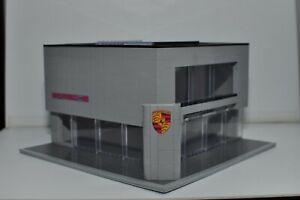 Custom Car Dealership Speed Champions Built LEGO Model