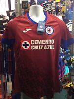 Joma Cruz Azul 3rd 2020//2021 Mens Jersey 100/% Authentic 3er Jersey Cruz Azul