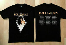 GILDAN Janet Jackson t Shirt Black Diamond world tour 2020 T-Shirt S~XXL