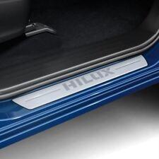 Genuine Toyota Hilux 2016+ Lastre in Alluminio Graffi Protezione-pc382-0k004