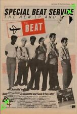 Beat The Special Beat Service Tour Advert NME Cutting 1982