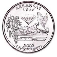 2003 - ARKANSAS State Quarter / DENVER Mint / BRILLIANT UNCIRCULATED