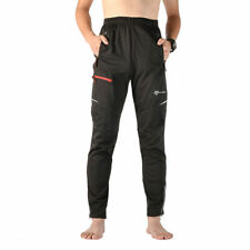 RockBros Winter Fleece Thermal Cycling Casual Pants Windproof Black Size XL