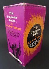 """Extra Rare 6 Box Set """"The Lensman Series"""" E.E. Doc Smith Pyramid Books 1970"""