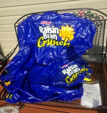 Kellog's Raisin bran INFLATABLE CHAIR LARGE VERY RARE! Dorm room BRAND NEW!