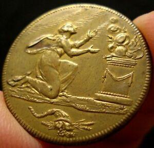 1802 Amiens Peace Token Medal Jeton RARE RRR