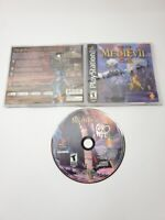 MediEvil II Sony PlayStation 1 2000 Black Label CIB TESTED NICE PS1
