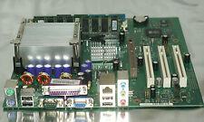 Siemens Fujitsu Mainboard D1761-A23 +intel Celeron CPU +RAM, Motherboard FSC