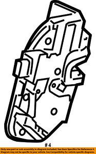 FORD OEM Rear Door-Lock Actuator Motor CA8Z7426412A