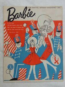 VINTAGE Mattel Barbie Magazine May-June 1964