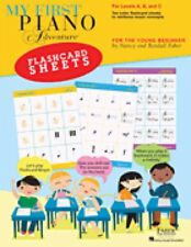 My First Piano Adventure Flashcard Sheets For the Young Beginner Faber 000275425