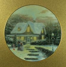 Home To Grandma'S Home for the Holidays Plate Thomas Kinkade #2 Christmas Noel