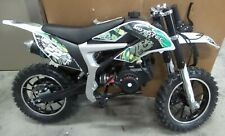 Mototec Mt-Db-50Cc-Demon-Green 50cc Demon Kids Mini Gas Dirt Bike - Green
