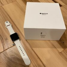 Apple Watch Series 3 Cellular 38mm Silver/White Stainless Steel APPLECARE+