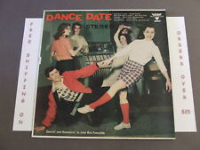 DANCE DATE COMPILATION LP MID CENTURY MALT SHOP COVER